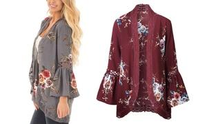 Women's Bell Sleeve Kimono