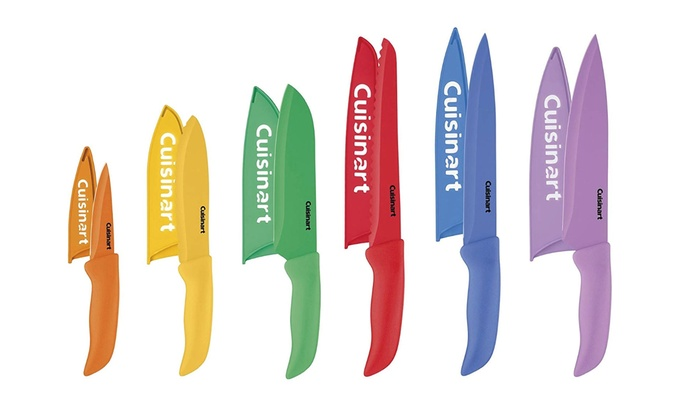 Cuisinart Kitchen Knife Set with Covers (12-Piece)