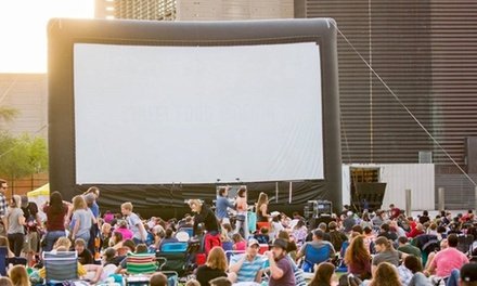 Two Adult and Two Child Tickets or Four Adult Preferred Seating Tickets at Food Truck Cinema (Up to 49% Off)