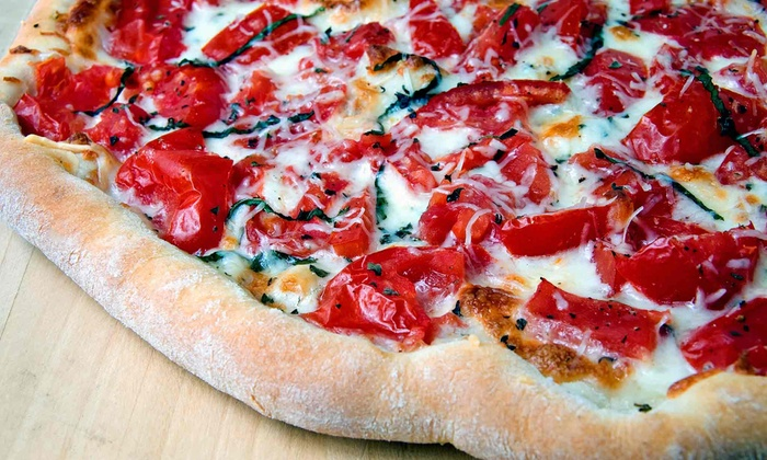 South Brooklyn Pizza - East Village: $17.50 for Pizza, Garlic Knots, and Soda for Takeout at South Brooklyn Pizza ($35 Value)