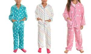 Angelina Kids Fleece Pajama (2-Piece)