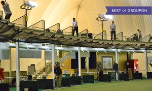 Up to 53% Off Golf Range Access  at The Golf Dome - Mini Golf & Batting Cages, plus 6.0% Cash Back from Ebates.