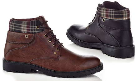 Solo Traveler Men's Ankle Cut Boots