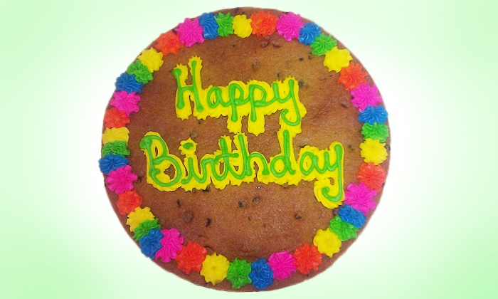 Great American Cookies - Multiple Locations: $13 for a 12-Inch Cookie Cake with Writing at Great American Cookies ($23.99 Value)