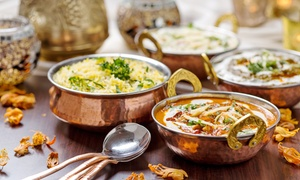 Minerva Indian Cuisine: Minerva Indian Cuisine (Up to 50% Off). Two Options Available