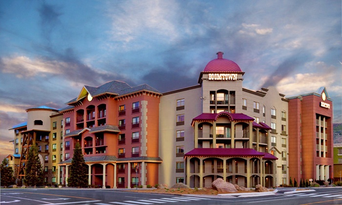 Boomtown Reno - Reno: Two-Night Stay for Two with Option of Dining Credit or Lobster Buffet at Boomtown Reno