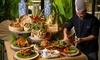 Balinese Buffet with Soft Drinks: Child (AED 65), Adult (AED 125)
