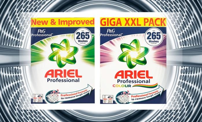 Ariel Waschmittel Regular und/oder Colour für 265 Waschladungen