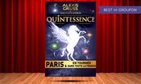 """1 place pour adulte ou enfant, catégories au choix pour le spectacle """"Quintessence"""" dès 26 € à Toulouse"""