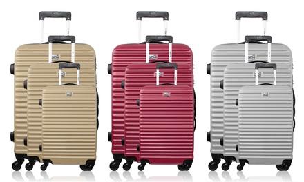 Set 3 valises en ABS, modèle Brazilia (SaintEtienne)
