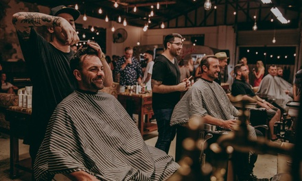 Kids Haircut ($15) or Choice of Men's Haircut Package ($19) at Mobile Barber Shop Depot (Up to $40 Value)
