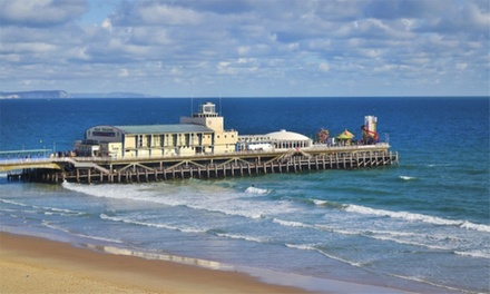 Bournemouth: Double/Twin Room for Two with Breakfast, Dinner, Coffee/Tea with Cake, and Wine at The Mayfair Hotel