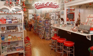 $8 For $16 Worth Of Vintage Toys, Candy, And Collectibles At Tiddle E. Winks Vintage 5 & Dime
