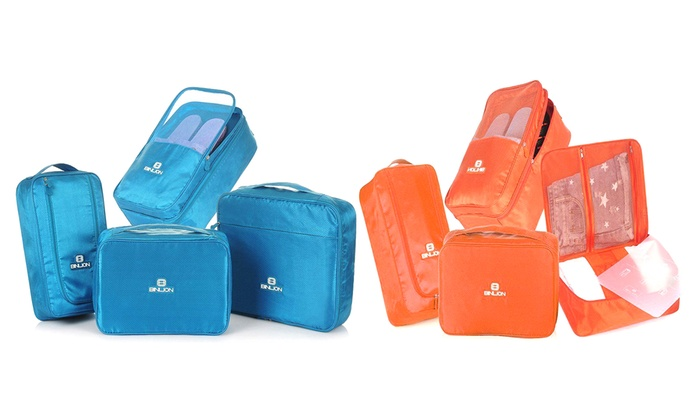 Four-Piece Packing Organiser Set