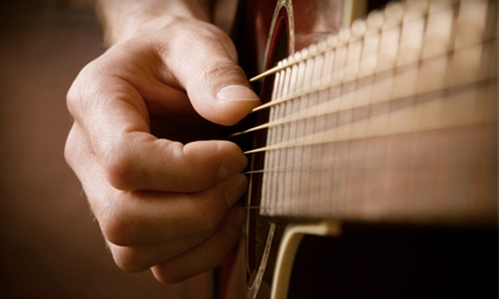 Rock Stars Academy - Flint: $39 for Four One-on-One Music Lessons at Rock Stars Academy ($84 Value)