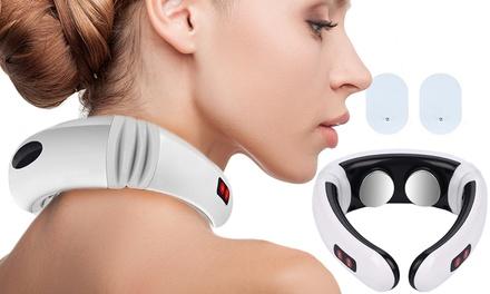 1 o 2 massaggiatori elettrici portatili per collo e cervicale Master