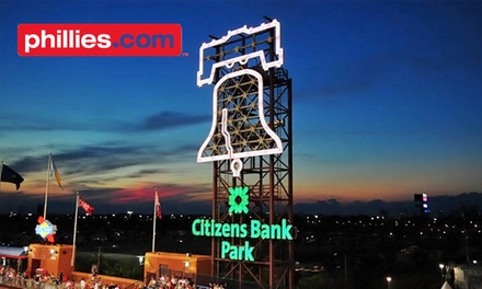 Philadelphia Phillies Game at Citizens Bank Park on May 8, 13, or 16 (Half Off). Various Seating Options.