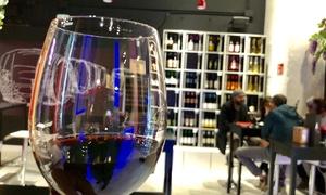 Lugar del Vino: Cata para 2, 4 o 6 personas de 3 vinos blancos o tintos y 3 tapas gourmet desde 11,95 € en Lugar del Vino