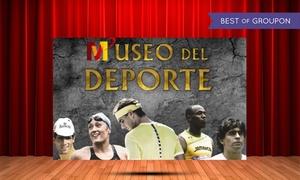 Museo del Deporte: 1 o 5 entradas al Museo del Deporte en Valladolid desde 2,95 €