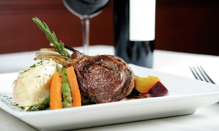 $35 for Dinner for Two with Entrees, Drinks, and Dessert at Cornerstone Restaurant & Cafe (Up to $82 Value)