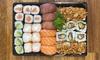 Plateau de sushis à emporter