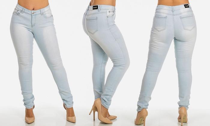 Womens skinny jeans size 18
