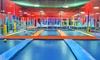 JumpStreet - Phoenix - Multiple Locations: Two Hours of Trampoline Jumping, Games, and Activities for Two or Four at JumpStreet (Up to 52% Off)