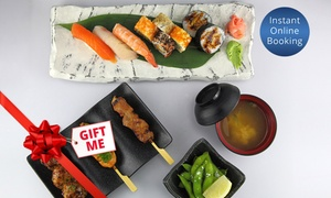 Sushi Planet Adelaide: Best of Sushi Planet Lunch Platter for Two ($39) or Four People ($78) at Sushi Planet, CBD (Up to $164 Value)