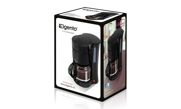 K Cup Coffee Maker Deals : Elgento 12-Cup Coffee Maker Groupon Goods