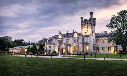 Co. Donegal: 1 or 2 Nights for Two with Breakfast, Dinner, Castle Tour and Leisure Access at 5* Lough Eske Castle
