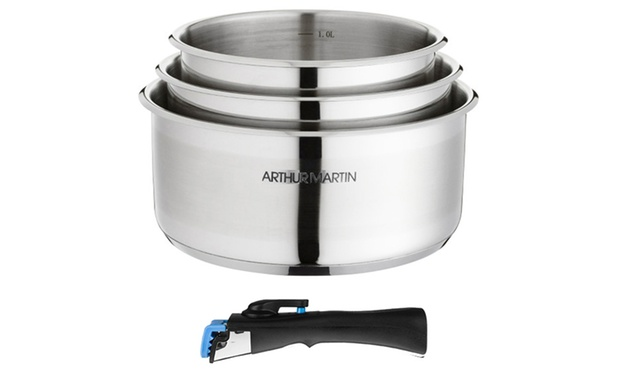 Batterie arthur martin groupon shopping for Batterie en inox