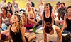 Dancing Dogs Yoga* - Multiple Locations: 5 or 10 Classes at Dancing Dogs Yoga (Up to 71% Off)