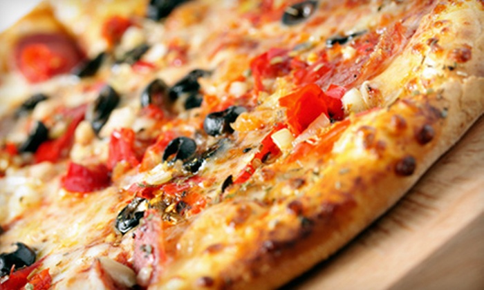 Papa Rick's Pizza - Multiple Locations: Pizzeria Food at Papa Rick's Pizza (Up to 52% Off)