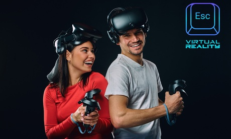 One-Hour Virtual Reality Experience for Two or Four at Escape Virtual Reality (Up to 37% Off)