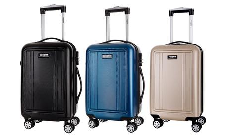 Juego de 3 maletas con 8 ruedas Newman con envío gratuito Oferta en Groupon