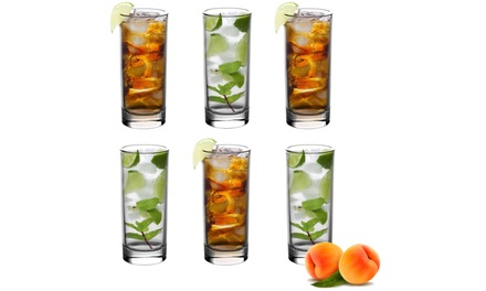 6 or 12Pack of Traditional Hiball Glasses