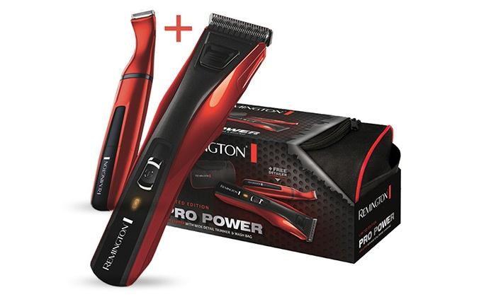 """שריג אלקטריק בע""""מ - Merchandising (IL):  מכונת תספורת REMINGTON הכוללת טרימר לעיצוב השיער, כבל טעינה USB ונרתיק אחסון, כולל 3 שנות אחריות!"""