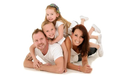 Family Photoshoot with 10'' x 8'' Print and Digital Copy of One Image at Splash Studios