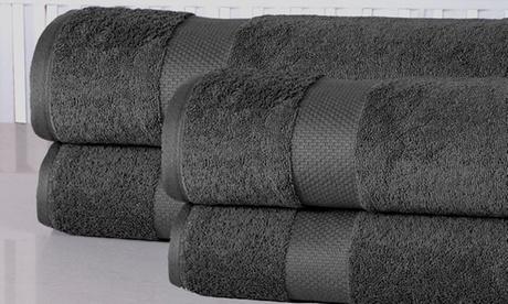 100% Cotton Oversized Bathsheet Set (4-Piece)