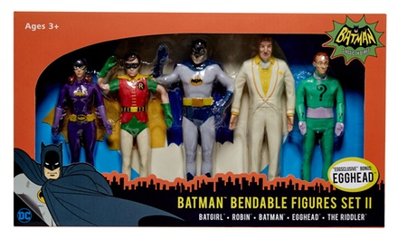 Batman Bendable Figures Set (5-Piece)