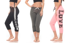 Coco Limon Women's Joggers (3-Pack) at Coco Limon Women's Joggers (3-Pack), plus 9.0% Cash Back from Ebates.