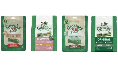 image for Greenies Teenie, Petite, Regular, or Large in Variety of Flavors at <strong>Pet</strong> Goods