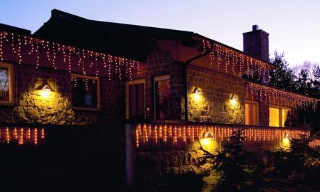 Luces LED efecto lluvia helada de Kosntsmide