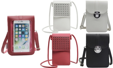From $12.95 for Women's Touch Screen Crossbody Phone Bag
