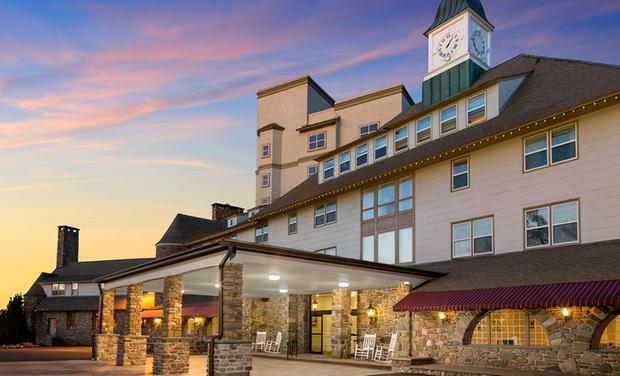 The Inn at Pocono Manor - Pocono Manor, PA: Stay with $25 Dining Credit at The Inn at Pocono Manor in Pocono Manor, PA. Dates into March 2017.