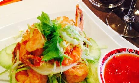 Menú thai o degustación con entrantes, acompañamiento, principal, postre y bebida desde 24,95 € en Phuket Tai