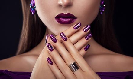 Puesta de uñas de acrílico con opción a primer relleno en Uñas 10 (hasta 77% de descuento)