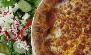 Pizza Parlor: Pizzeria Food for Two or Four at Pizza Parlor (47% Off)