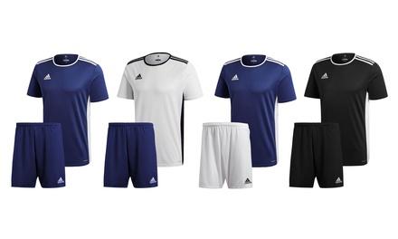 Pack de camiseta y shorts para fútbol de Adidas