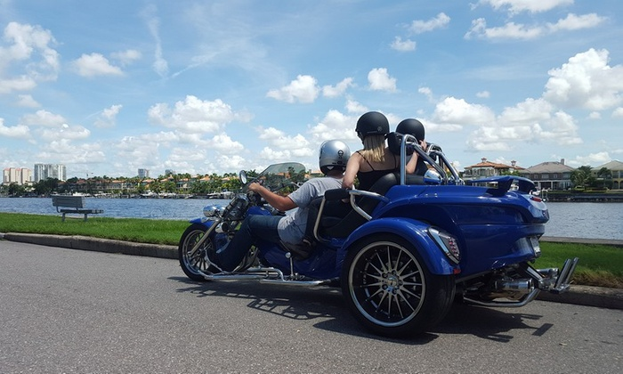 USA Trike AdVentures LLC - Parking Lot Next to Hooters: $40 for Bayshore Drive Tour for One or Two People from USA Trike AdVentures LLC ($80 Value)